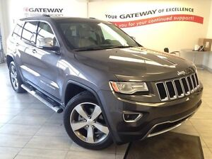 2015 Jeep Grand Cherokee Limited 4x4 - Only 32K! Heated Steering