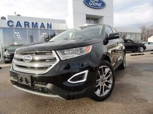 2016 Ford Edge Titanium H/C Seats Htd Rear seats Nav