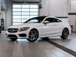 2017 Mercedes-Benz C-Class C300 4MATIC Coupe