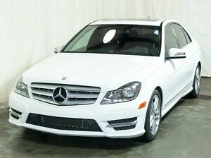 2013 Mercedes-Benz C-Class C300 4MATIC AWD Sedan w/ Leather, Sun