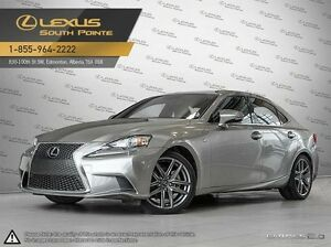 2014 Lexus IS 250 F Sport Executive package