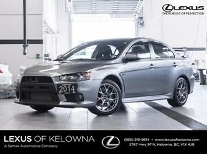 2014 Mitsubishi Lancer Evolution AWD Evolution GSR