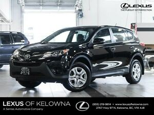 2015 Toyota Rav4 AWD LE with Bluetooth