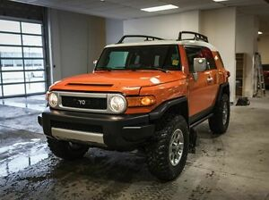 2013 Toyota FJ Cruiser C Package, Revtek Lift Kit, 3M Hood, Side