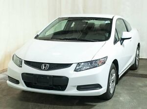 2013 Honda Civic LX Coupe Automatic, Extended Warranty