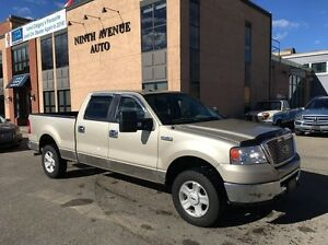 2008 Ford F-150 XLT 4x4 CREW. EXTREMELY CLEAN CONDITION! LOW KM!