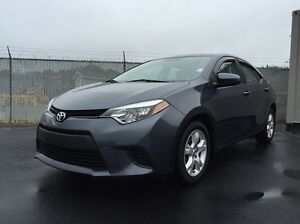 2014 Toyota Corolla LE  Y.E.S WAS $16,950 NOW $14,977