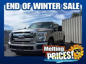 2011 Ford F-250 XT w/CREW CAB/2X4/ ( MASSIVE 10 DAY SALE! )