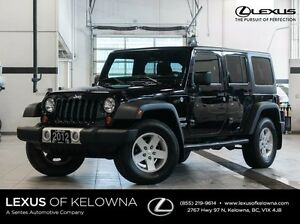 2012 Jeep Wrangler Unlimited Sport 4D Utility 4WD