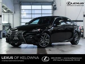 2016 Lexus IS 350 F-Sport Series 2