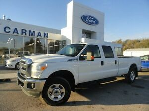 2016 Ford F-250 FRESH TRADE AS OF OCTOBER 21 XLT 4x4 SD Crew 8ft