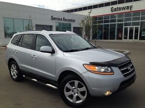 2009 Hyundai Santa Fe Limited AWD - Leather Heated Seats, Sunroo