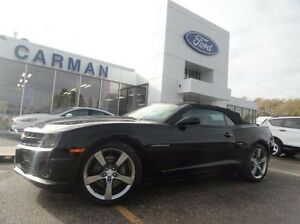 2012 Chevrolet Camaro SS, Convertible, Auto. Leather