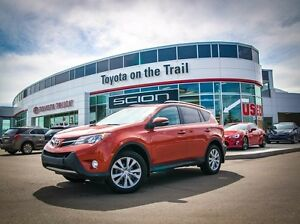 2015 Toyota Rav4 Limited, Technology Package, AWD, Navigation, L