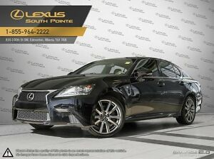 2014 Lexus GS 350 F SPORT package All-wheel Drive (AWD)