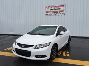 2013 Honda Civic LX 2dr FWD Auto with 6 year/160,000 km Comprehe