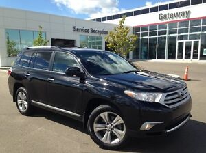 2013 Toyota Highlander LIMITED 4WD - Only 92K! Leahter Heated Se