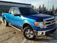 2013 Ford F150 XLT 4x4 SuperCab ONLY 17K, Starter, Boards