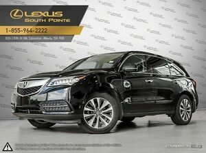 "2014 Acura MDX Technology package w/9"" display for backup camer"