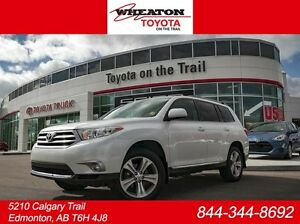 2012 Toyota Highlander Sport, Leather, Heated Seats, Sunroof, Ba