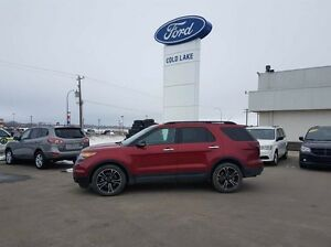 2013 Ford Explorer LEATHER, SPORT, 3M PROTECTION