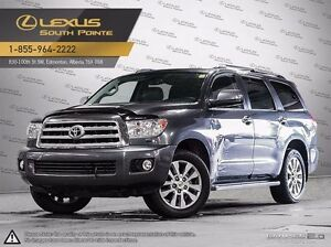 2012 Toyota Sequoia Limited technology package 4x4