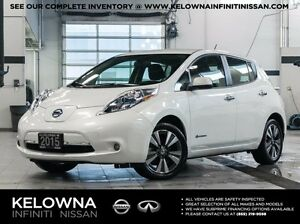 2015 Nissan Leaf SL Electric w/Quick Charge