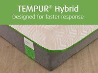 BRAND NEW EX DISPLAY TEMPUR HYBRID ELITE superkingsize mattress BIG AND BEAUTIFUL AT A BAGAIN PRICE