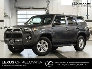 2015 Toyota 4Runner 4X4 SR5 Upgrade Package