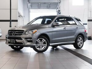 2013 Mercedes-Benz M-Class ML350 BlueTEC 4MATIC