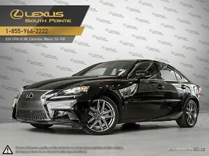 2014 Lexus IS 250 F Sport executive package All-wheel Drive (AWD