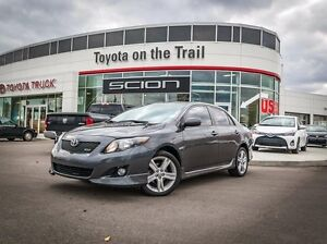 2010 Toyota Corolla XRS, Remote Starter, Leather, Heated Seats,