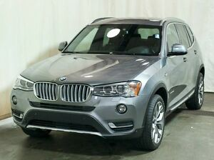 2016 BMW X3 xDrive28i AWD w/ Navigation, Leather, Sunroof