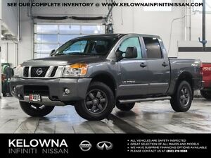 2015 Nissan Titan Pro-4X CrewCab 4WD w/Leather Package