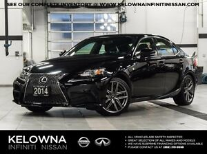 2014 Lexus IS 350 F-Sport Premium Package AWD