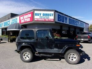 1992 Jeep Wrangler Base 2dr 4x4
