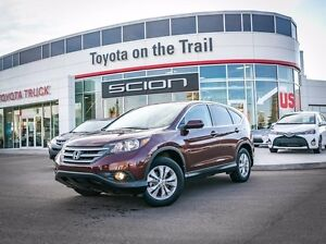 2012 Honda CR-V EX-L, AWD, Remote Starter, Leather, Heated Seats
