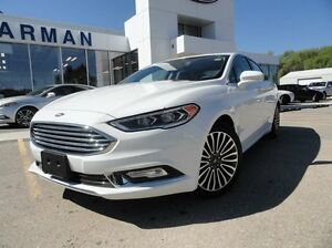 2017 Ford Fusion SE NAV, LEATHER, ROOF, AWD!