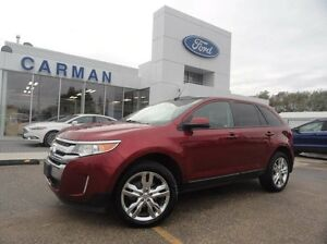 2013 Ford Edge BLOWOUT PRICE! SEL AWD Leather Roof Push Button