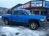 1998 Dodge Power Ram 1500 Laramie SLT 4x4 Club Cab 154.7 in. WB