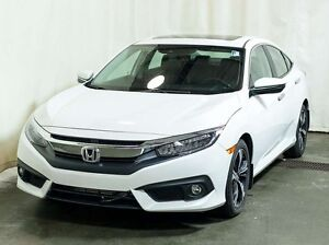 2016 Honda Civic Touring Sedan CVT w/ Extended Warranty, Honda S