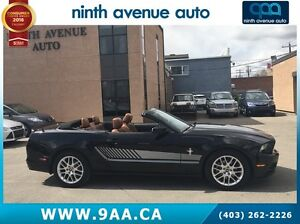 2014 Ford Mustang V6 Premium 2dr Convertible leather