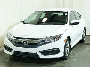 2016 Honda Civic LX Sedan CVT w/ Remote Start, Heated Seats, Low