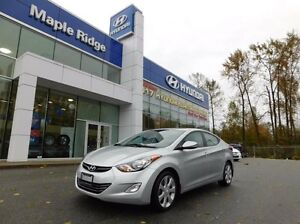 2013 Hyundai Elantra Limited 4dr Sedan