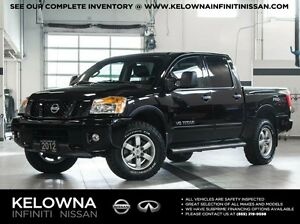 2012 Nissan Titan Pro-4X w/Leather Package