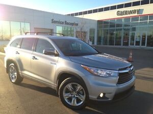 2014 Toyota Highlander Hybrid Limited 4dr All-wheel Drive