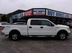 2012 Ford F-150 XLT 4x4 SuperCrew Cab 5.5 ft. box 145 in. WB