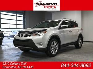 2014 Toyota Rav4 Limited Technology Package 4dr All-wheel Drive