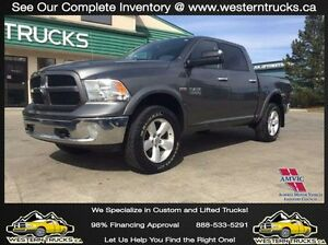 2013 Ram Outdoorsman ~ Level Kit~Rims~Tires~Tow Pkg ~ $196 B/W