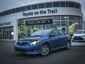 2009 Toyota Corolla S, Sunroof, AUX, Alloy Rims, Power Windows,